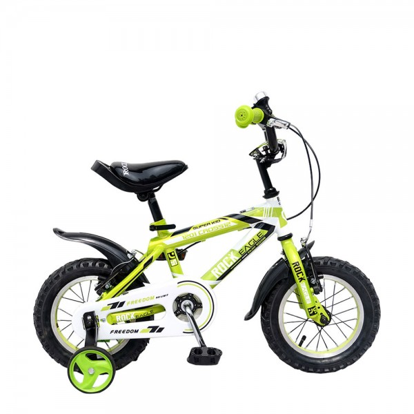 "12"" 1201 BMX CROSS Children Bike (Green)"