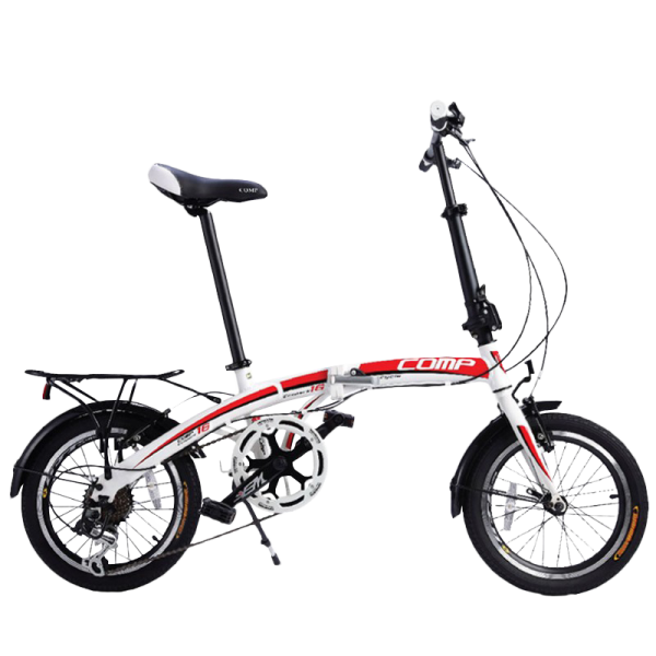 COMP 1607 Eco-Park Folding Bike (White)