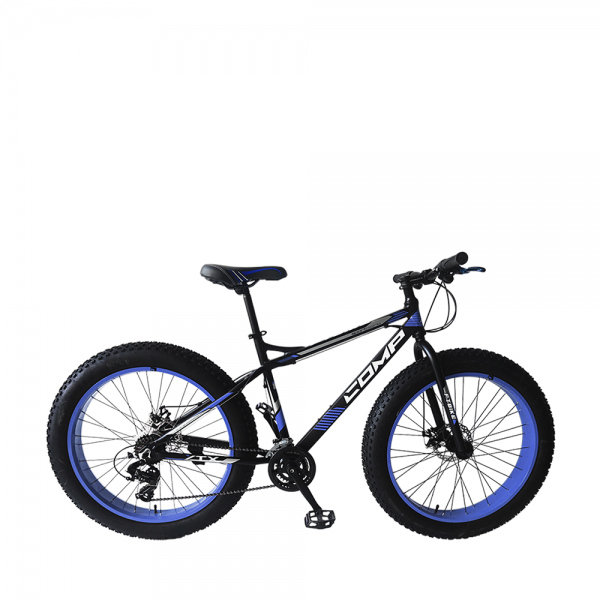 COMP 2616FT Bike (Matt Black+Blue)