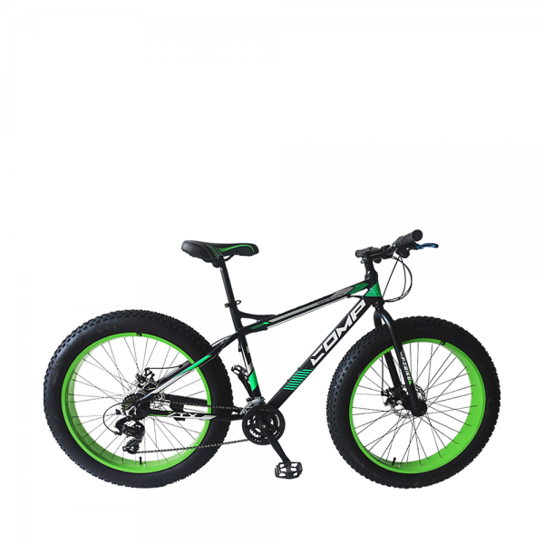 COMP 2616FT Bike (Matt Black+Green)