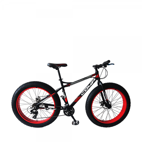 COMP 2616FT Bike (Matt Black+Red)
