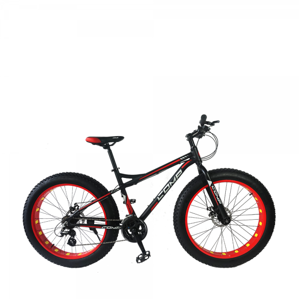 COMP Reflection FAT Bike (Matt Black+Red)