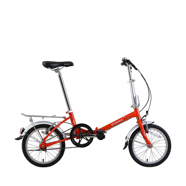"Oyama 16"" Folding Bike - Red"