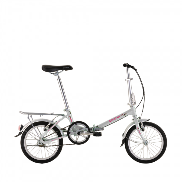 "Oyama 16"" Folding Bike - White"