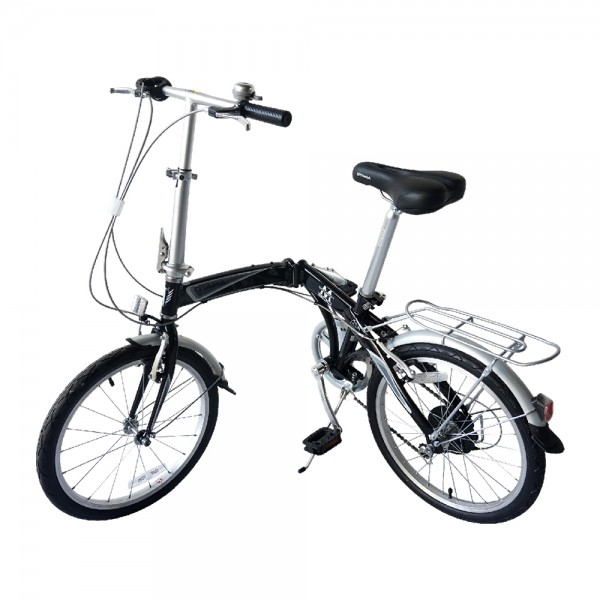 OYAMA Elite Dophin M300 Folding Bike (Black)