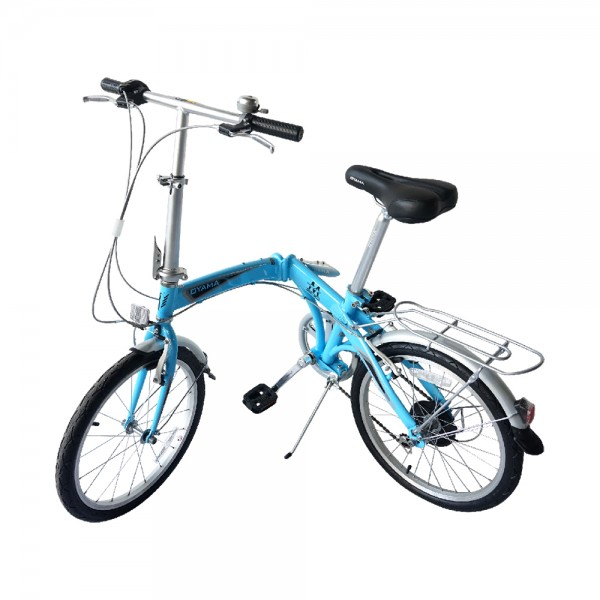 OYAMA Elite Dophin M300 Folding Bike (Celeste Blue)