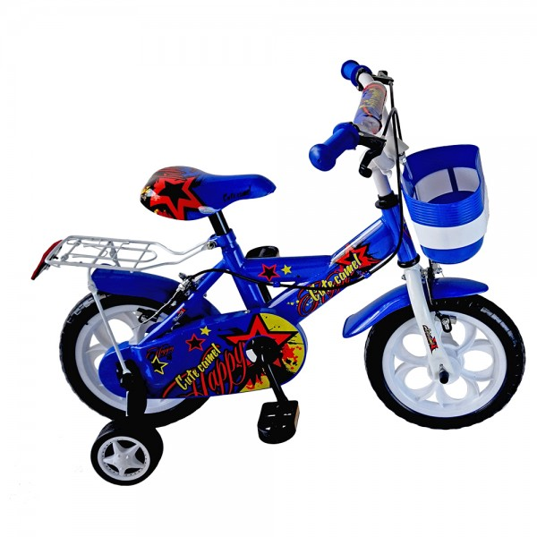 SWEETBABY Cute Camel Kids Bike (Blue)