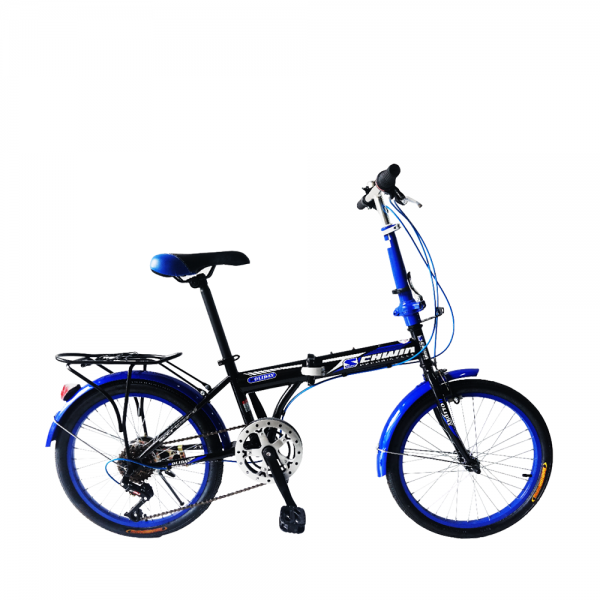SCHWIN 2006 Holiday Folding Bike (Black+Blue)